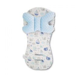 Assise universelle Minky - collection - Marin