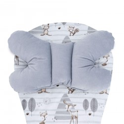 Assise universelle velours Velvet- collection - Forest