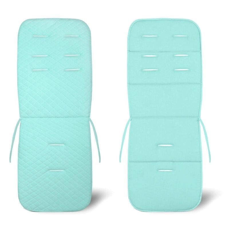 Assise poussette velours Velvet - collection - Turquoise